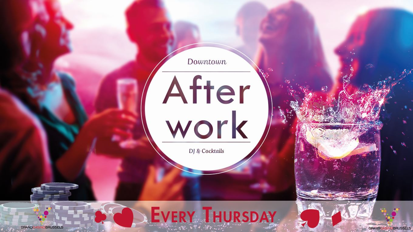 Afterwork In Downtown Brussels Dont Miss The First Edition