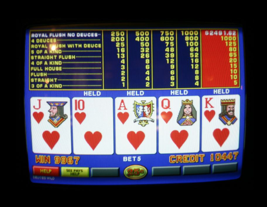 Everything you need to know about video poker